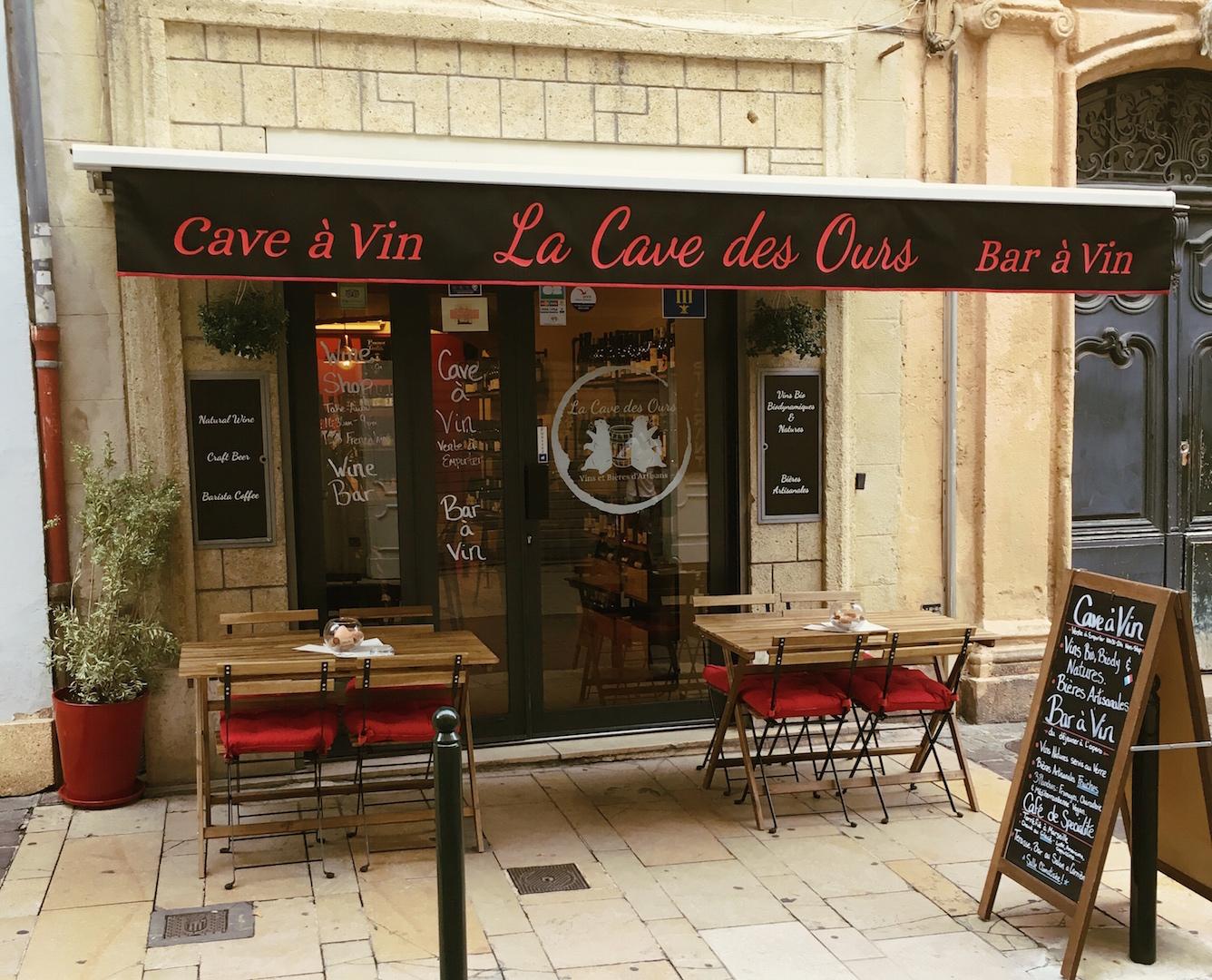 profiter de la livraison gratuite sur des pieds à prix compétitif Cave & Bar à Vin | Aix en Provence | La Cave des Ours