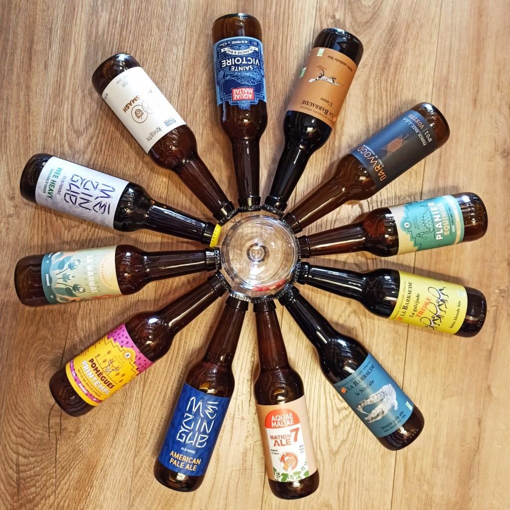 Selection de bières Artisanales
